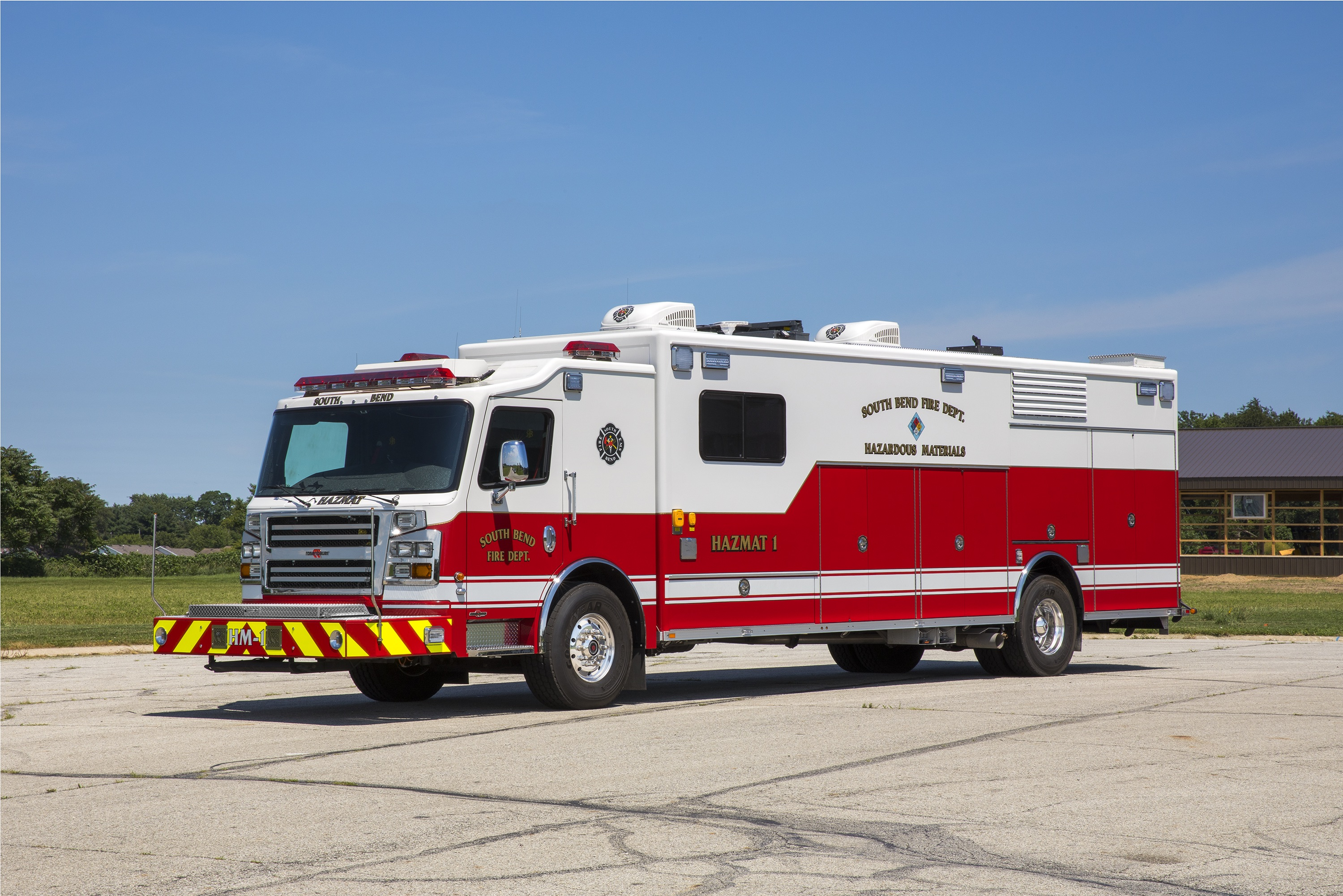 2017 Commander ER haz mat unit so 42300